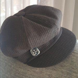 scala brown hat